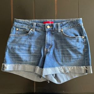Jennifer Lopez Denim Cutoff Shorts Size 8